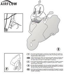 GIVI - GIVI AF7703 KTM 1050 (15-16) - 1190 (13-16) RÜZGAR SIPERLIK (1)