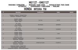 GIVI - GIVI MG1127 HONDA INTEGRA 750 (14-18) ZINCIR MUHAFAZA VE ÇAMURLUK (1)