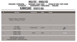 GIVI - GIVI MG4103 KAWASAKI VERSYS 650 (06-18) ZINCIR MUHAFAZA VE ÇAMURLUK (1)