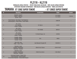 GIVI - GIVI PL2119 YAMAHA XT 1200ZE - XT 1200Z SUPER TENERE (10-18) YAN ÇANTA TASIYICI (1)