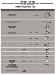 GIVI - GIVI PLR1110 HONDA VFR 1200X CROSSTOURER (12-18) YAN ÇANTA TASIYICI (1)