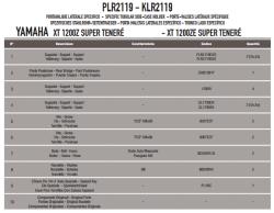 GIVI - GIVI PLR2119 YAMAHA XT 1200ZE - XT 1200Z SUPER TENERE (10-18) YAN ÇANTA TASIYICI (1)