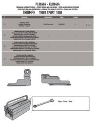 GIVI PLR6404 TRIUMPH TIGER SPORT 1050 (13-18) YAN ÇANTA TASIYICI - Thumbnail