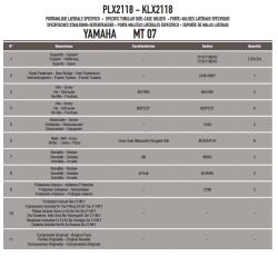 GIVI - GIVI PLX2118 YAMAHA MT-07 (14-17) YAN ÇANTA TASIYICI (1)