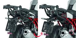 GIVI - GIVI PLXR5117 BMW R1200R - R1200RS (15-18) YAN ÇANTA TASIYICI