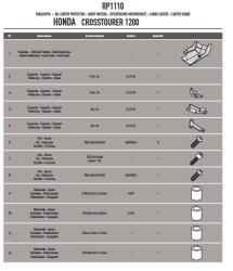 GIVI - GIVI RP1110 HONDA VFR 1200X CROSSTOURER (12-18) KARTER KORUMA (1)
