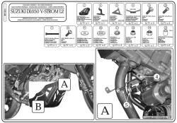 GIVI - GIVI RP3101 SUZUKI DL 650 V-STROM (11-19) KARTER KORUMA (1)