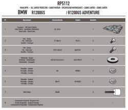 GIVI - GIVI RP5112 BMW R1200GS - R1200GS ADVENTURE (13-18) - R1200R / RS (15-18) KARTER KORUMA (1)
