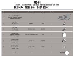 GIVI - GIVI RP6401 TRIUMPH TIGER 800 - TIGER 800 XC (11-16) KARTER KORUMA (1)