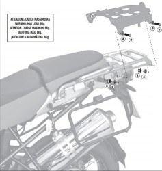 GIVI - GIVI SRA5102 BMW R 1200GS ADVENTURE (06-13) ARKA ÇANTA TASIYICI (1)