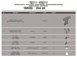 GIVI - GIVI TB2111 YAMAHA X-MAX 125-250-400 (13-17) SISSYBAR (1)