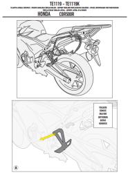 GIVI TE1119 HONDA CB 500F - CBR 500R (13-15) YAN KUMAS ÇANTA TASIYICI - Thumbnail