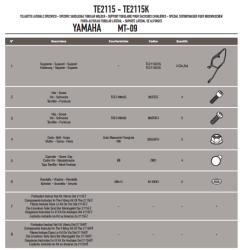 GIVI - GIVI TE2115 YAMAHA MT-09 (13-16) YAN KUMAS ÇANTA TASIYICI (1)