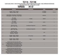 GIVI - GIVI TE2118 YAMAHA MT-07 (14-17) YAN KUMAS ÇANTA TASIYICI (1)
