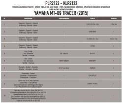 KAPPA - KAPPA KLR2122 YAMAHA MT-09 TRACER (15-17) YAN ÇANTA TASIYICI (1)