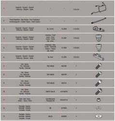 KAPPA - KAPPA KLR5108 BMW R 1200 GS - R 1200 GS ADVENTURE (13-18) YAN ÇANTA TASIYICI (1)