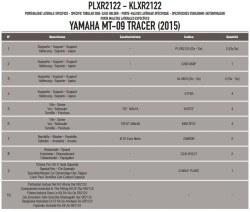 KAPPA - KAPPA KLXR2122 YAMAHA MT-09 TRACER (15-17) YAN ÇANTA TASIYICI (1)