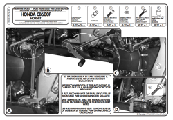 KAPPA - KAPPA KN453 HONDA CB 600F HORNET (07-13) KORUMA DEMIRI (1)