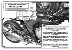 KAPPA - KAPPA KN456 HONDA CBF 600S - 600N (08-12) KORUMA DEMIRI (1)