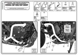 KAPPA - KAPPA KN460 HONDA CBF 1000 - CBF 1000ST (10-14) KORUMA DEMIRI (1)
