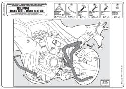 KAPPA - KAPPA KN6401 TRIUMPH TIGER 800 (11) KORUMA DEMIRI (1)