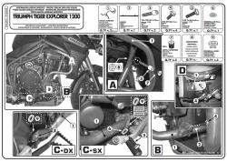 KAPPA - KAPPA KN6403 TRIUMPH TIGER EXPLORER 1200 (12-15) KORUMA DEMIRI (1)