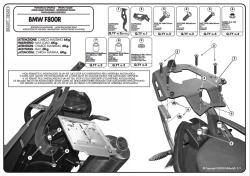 KAPPA - KAPPA KR691 BMW F 800 R (09-14) ARKA ÇANTA TASIYICI (1)