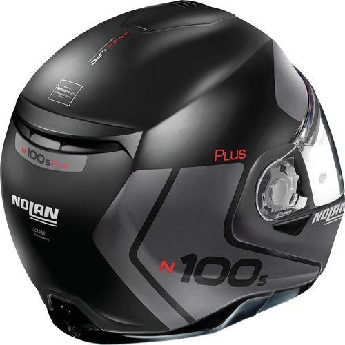 NOLAN N100-5 PLUS DISTINCTIVE N-COM KASK 21