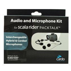 CARDO - CARDO SRAK0032 (PACKTALK-SMARTPACK) AUDIO VE MIKROFON SET