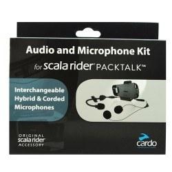 SCALA RIDER - CARDO SRAK0032 (PACKTALK-SMARTPACK) AUDIO VE MIKROFON SET