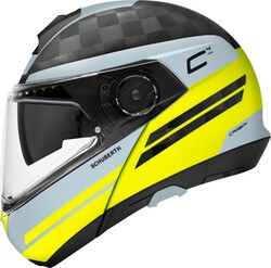 SCHUBERTH - SCHUBERTH C4 PRO CARBON TEMPEST YELLOW KASK