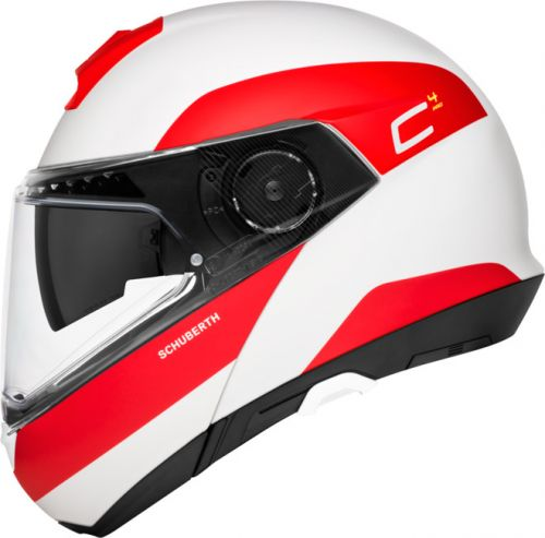 SCHUBERTH C4 PRO FRAGMENT RED KASK