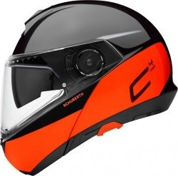 SCHUBERTH - SCHUBERTH C4 PRO SWIPE ORANGE KASK