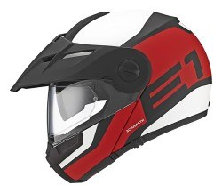 SCHUBERTH - SCHUBERTH E1 GUARDIAN RED KASK (1)